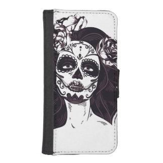 Skull Gothic iPhone SE/5/5s Wallet Case