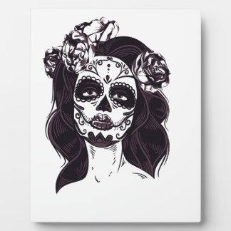 Skull Gothic Plaque