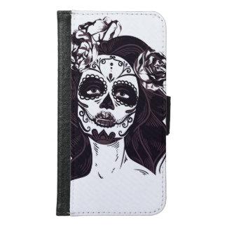 Skull Gothic Samsung Galaxy S6 Wallet Case