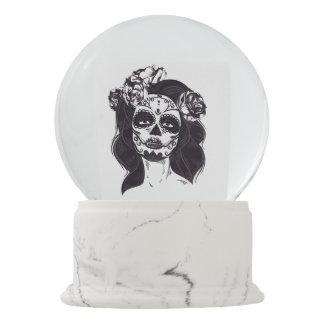 Skull Gothic Snow Globe