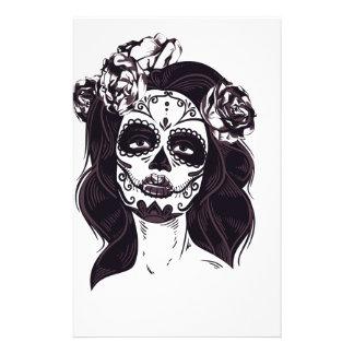 Skull Gothic Stationery