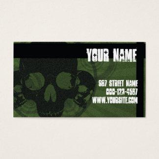 Skull Grunge Business Card