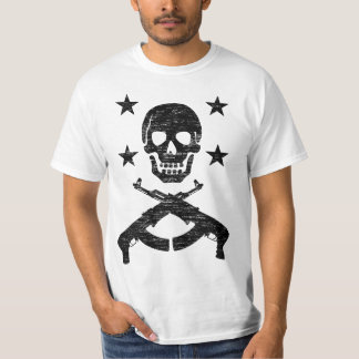 Skull Guns Stars vintage T-Shirt