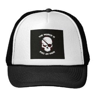 Skull Halloween Dark Black Scary Cap