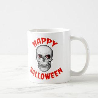 Skull Halloween Mug Cup