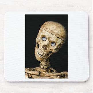 skull halloween people mask dummy scary holidays mousepad