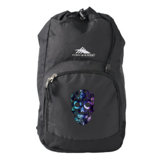 Skull Halloween Symbol Backpack