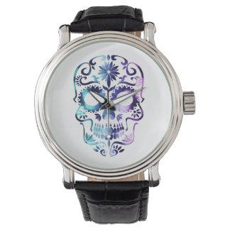 Skull Halloween Symbol Watch