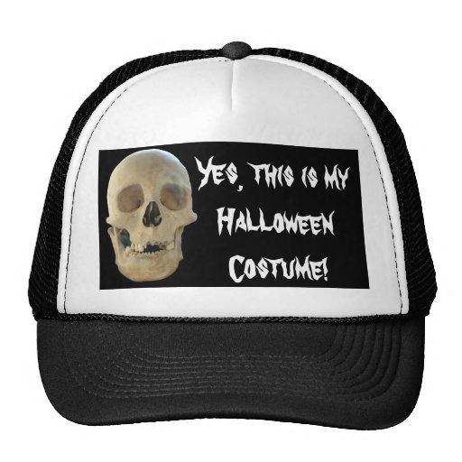 Skull Hat Halloween Costume
