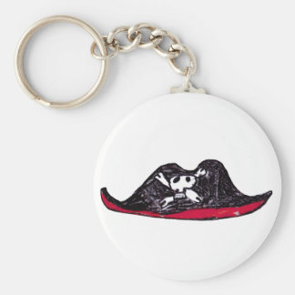 Skull Hat Keychain