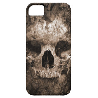 skull head 3d-abstract iPhone 5 covers