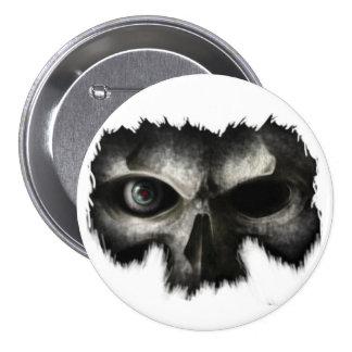 skull head buttons