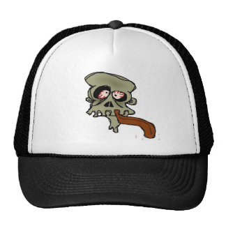 Skull-Head Trucker Hats