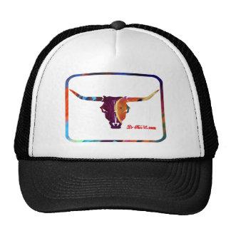 SKULL HEAD COW COWBOYS CUSTOMIZABLE PRODUCTS TRUCKER HATS