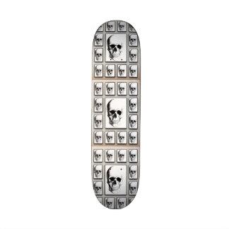 Skull Head textured Mini Boards 21.6 Cm Skateboard Deck