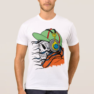 Skull, Headphones, Hoodie, Hat, T-shirt