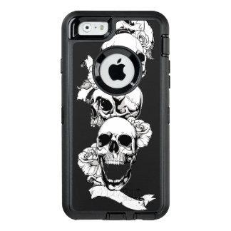 skull heads vintage art OtterBox iPhone 6/6s case