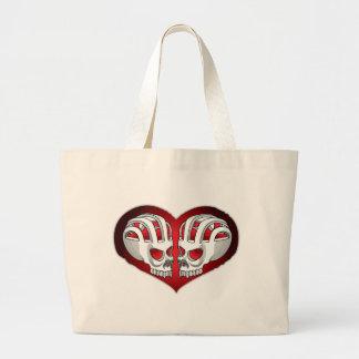 skull-heart bag