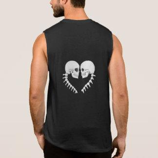 Skull Heart Sleeveless tshirt