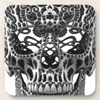 Skull Hearts Coasters