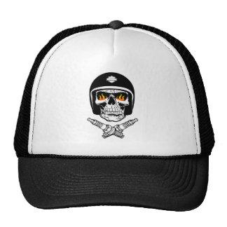 Skull Helmet Cap