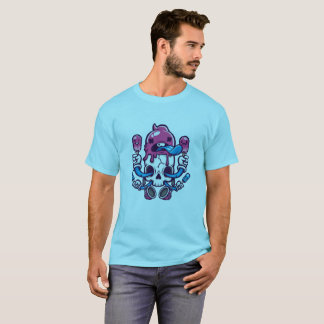 skull hoists cream T-Shirt