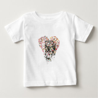 skull in the glass, vintage heart baby T-Shirt
