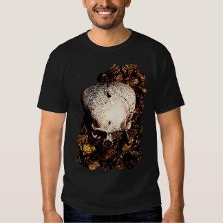 Skull in the Leaves T-Shirt