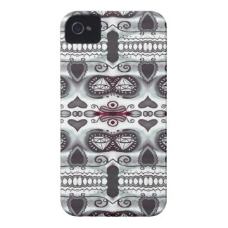 Skull in the mirror Iphone4 case