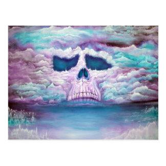 Skull In The Sky Postcard