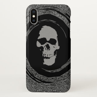 skull in the whirl case
