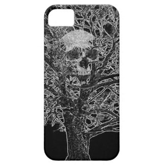 skull in tree iPhone 5 covers