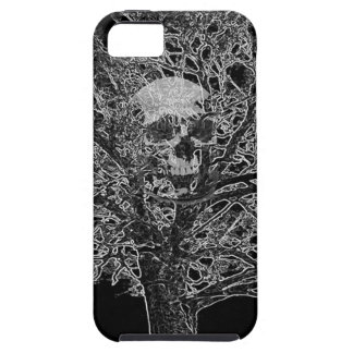 skull in tree case for the iPhone 5
