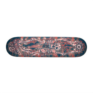 Skull Jaw Punk SK8 Board by Eat The Street 18.1 Cm Old School Skateboard Deck
