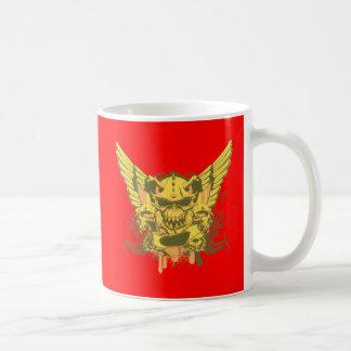 Skull ~ Judgement Day Fantasy Art Coffee Mug