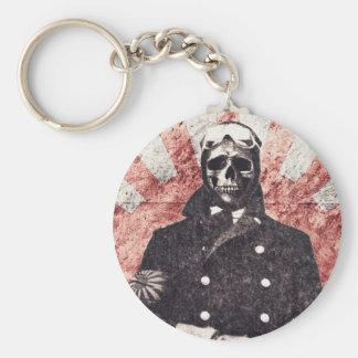 Skull kamikaze key ring