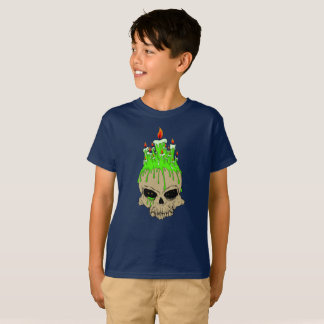 Skull Kids' Hanes TAGLESS® T-Shirt, Black T-Shirt