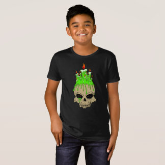 Skull Kids' Organic T-Shirt, Natural T-Shirt