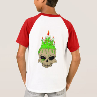 Skull Kids' Short Sleeve Raglan T-Shirt