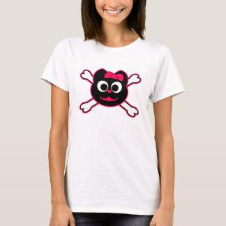 Skull Kitty Pink T-Shirt