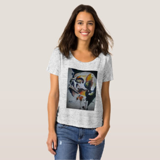 Skull Ladies Slouchy Shirt