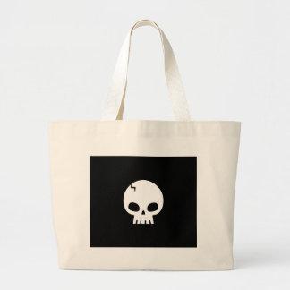 Skull Large Tote Bag
