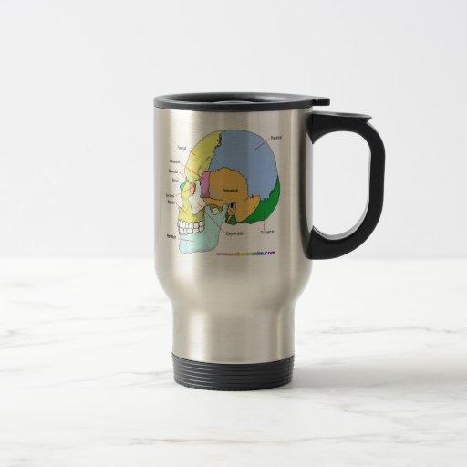 Skull (lateral) mug