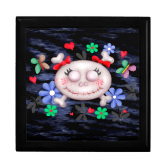 SKULL LOVE 2 CUTE GIFT BOX LARGE