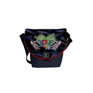 SKULL LOVE 2 Rickshaw MINI Messenger Bag