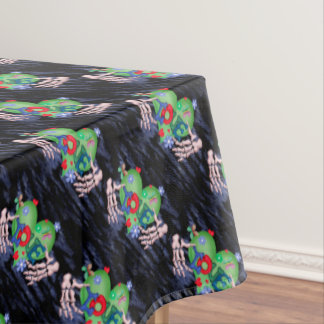 "SKULL LOVE 2 Tablecloth COLOR LIPS 52""x70"""