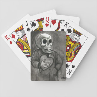 SKULL LOVE ART JACK JOYA PLAYING CARDS