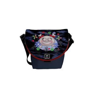 SKULL LOVE Rickshaw MINI Messenger Bag