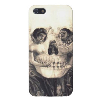 Skull Love, Vintage Optical Illusion iPhone 5 Case