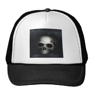Skull, Lower Jaw Removed Trucker Hats